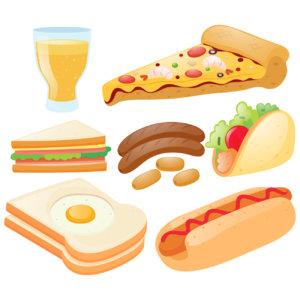 炭水化物の多い食生活