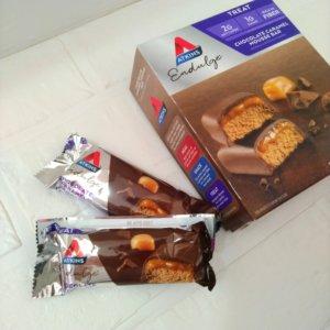 アトキンスチョコレートキャラメルスムースバー